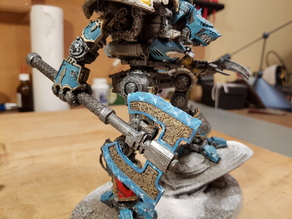Imperial knight weapon axe