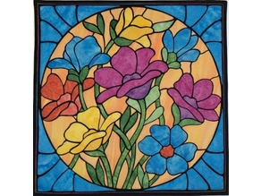 Flower Octet (Stained Glass)