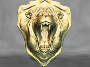 Lions Head Shield