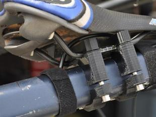 Copilot Bicycle Seat and Footpegs