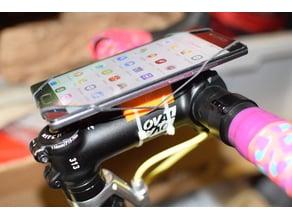 minimalist smartphone bike mount