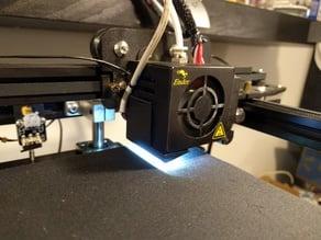 Ender 5 LED Mount