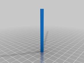 Rod for katana