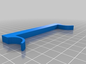 "FlashForge Dreamer Z-axis shim for a 1/4"" glass bed(johngiachero SCAD file used)"