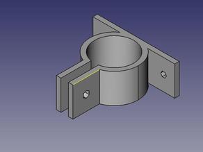PVC Pipe Clamp - Parametric