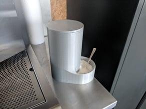 big dispenser for salt or sugar