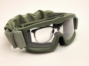Glasses mount for Lancer Tactical Goggles