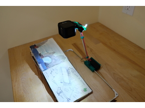 GoPro Sketching Stand with LEDs