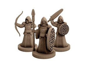 Fantasy Warriors (18mm scale)