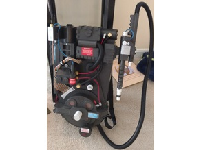 Spirit Halloween Ghostbusters Proton Pack Lighting and Cosmetic Upgrades