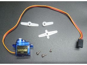 Tower Pro SG90 micro servo 9g dummy model step