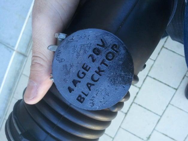 4AGE 20V BT intake plug by woggin - Thingiverse