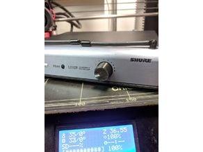 Knob for Shure diversity receiver UT4A