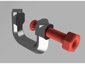 Customizable G-Clamp with Stress Model