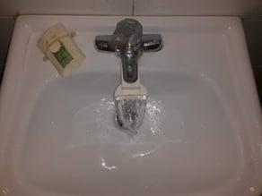 Press-Fit Bathroom Faucet or Spigot Extension