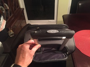Eddie Bauer Luggage Handle Repair