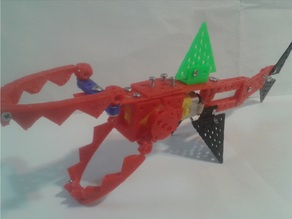 Robo SHARK - Motorized Meccano Lego Compatible