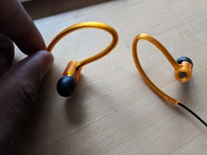 Final Audio E3000 earbuds earhooks