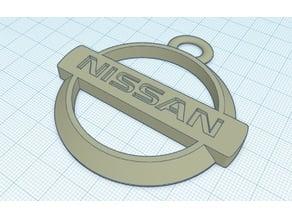 Nissan keychain logo