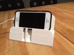 iPhone 5(s) stand.