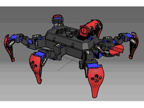 Remix body for Hexapod
