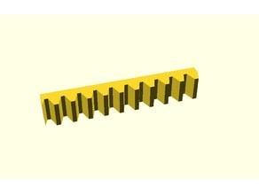 Parametrische Zahnstange / Parametric Gear Rack