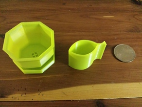 Simple Mini Watering Can for Mini Planters
