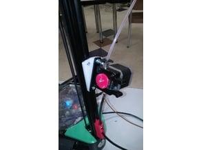 Extruder mounting plate (adjustable angle)