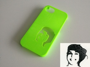 Customizable iPhone Stencil Case