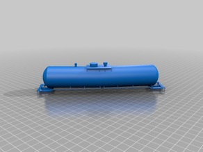 HO Tankcar tanker