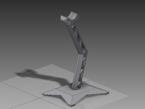 Headphone Stand With LED Slot