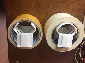 Tape wall holder transformer