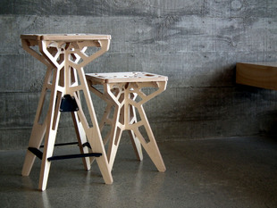 Space Frame Stools BWarDesign.