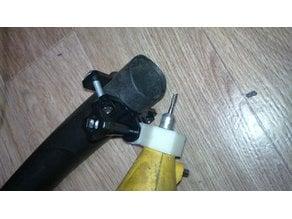 Dremel vacuum hose mount