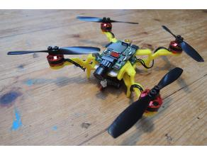 Froggy the Bwhoop B-03 brushless quad with mount option