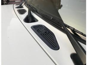 FJ Cruiser  hood vent trim