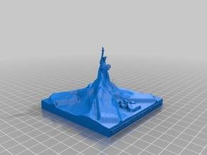 Matterhorn Raiffeisen Baidu Statue of Liberty Xover