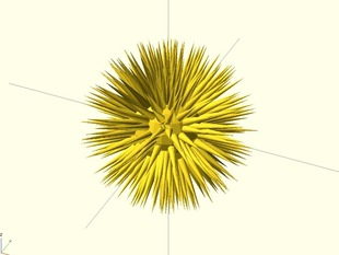 Parametric Sea urchin