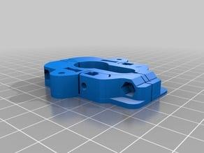 Homematic Keymatic Montageplatte DIN Zylinderschloss
