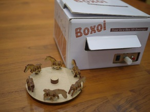 BOXOI (3D Zoetrope DIY Kit) Laser-Cut Files