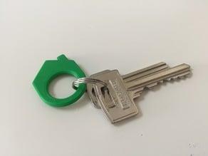 Home/house keychain