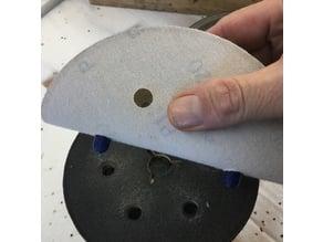 Orbital Sander - Paper aligner