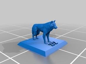 Wolf Token - 2/2 - Magic: the Gathering
