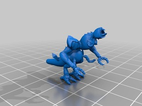 Spore to Blender to STL and a Monster!