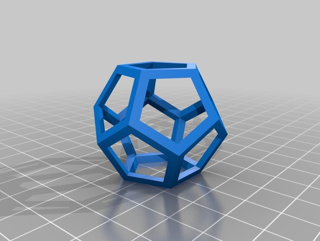things tagged with decahedron thingiverse