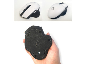 "G304/G305 ""Ergo"" bottom shell"