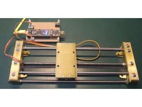 Linear slider model.A