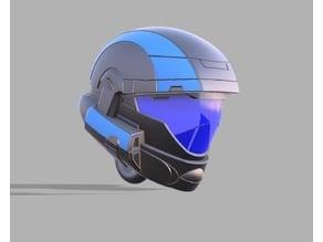 ODST Helmet High Quality Keychain