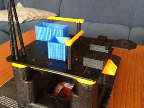 The semi-submersible coin rig