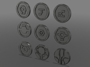Halo Forerunner Symbols